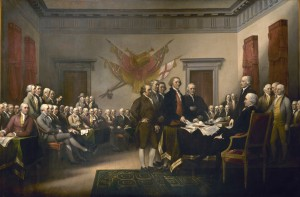 John Turnbull: The 1776 Declaration of Independence of the Thirteen American Colonies