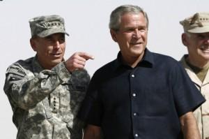 Sie veränderten den Mittleren Osten. Petraeus und Bush