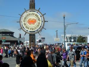 Fisherman's Wharf: Ramsch und Touristenmassen