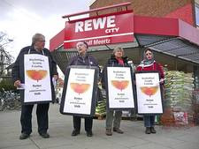 SED in Bremen. Kauft nicht beim Juden!