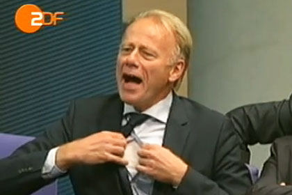 ZDF manipuliert. Trittin reagiert auf Brüderle, nicht auf Steinbrück