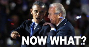 Planlos in die Zukunft. Obama und Biden.